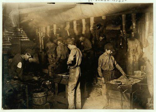child labor historic people