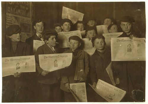 child labor boys group
