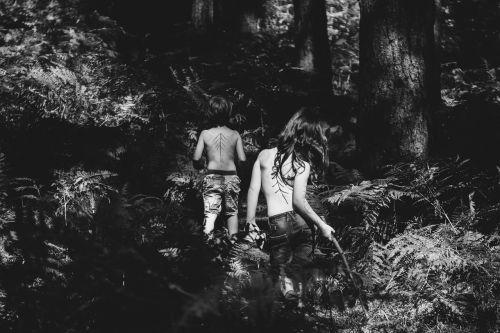 children jungle woodland