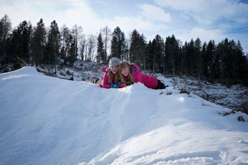 children girl winter