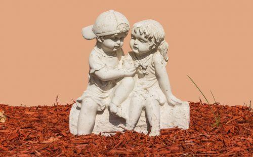 children sculpture trim