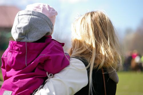 children parent mother