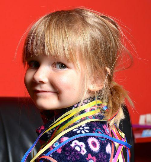 children girl colour coded