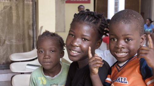 children haiti carrefour