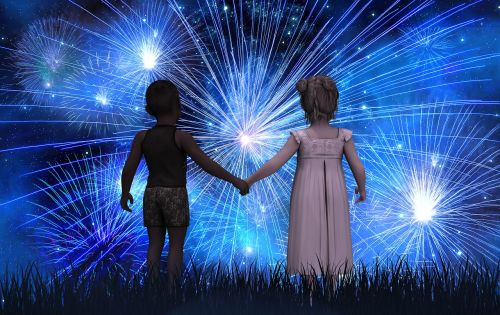 children forward new year's day