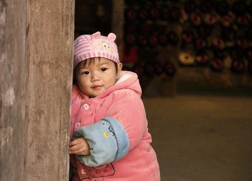 children  huang yao ancient town