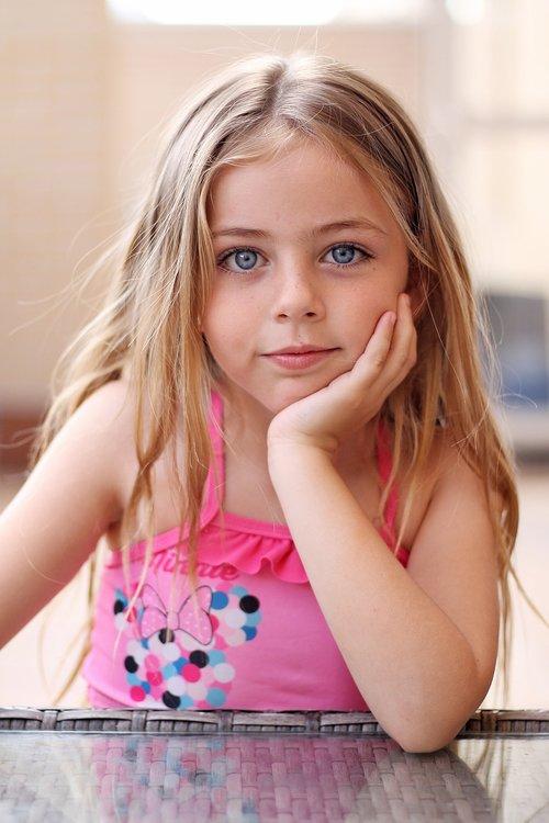 children  smile  eyes