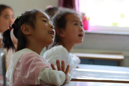 children  elementary school students  music lessons