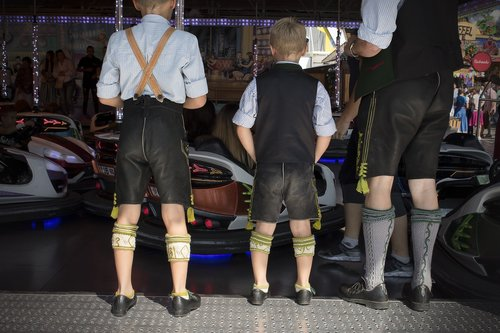 children  man  leather pants