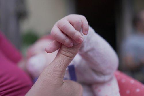 children  baby  hand