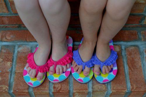 children children feet girls