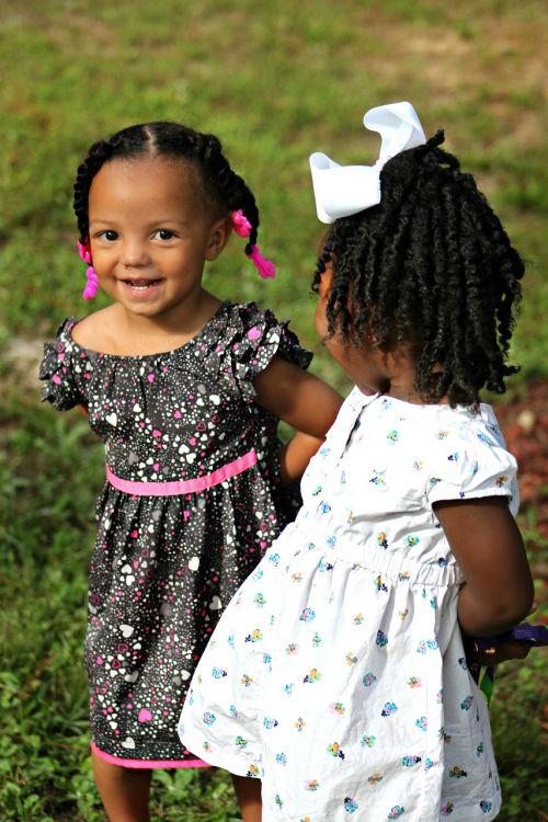 children young girls