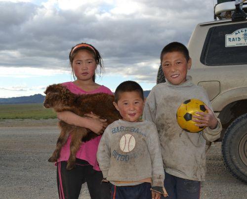 children mongolia altay