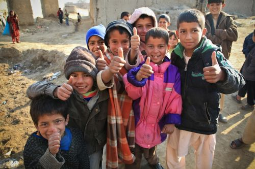 children cute afghanistan