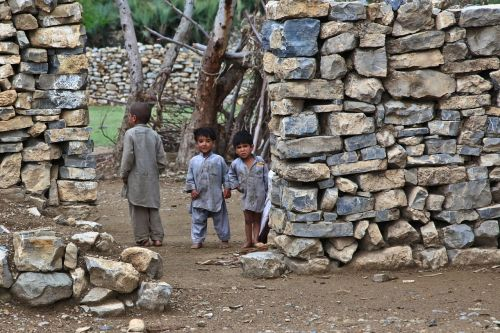 children poor house