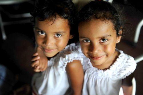 children twins girls