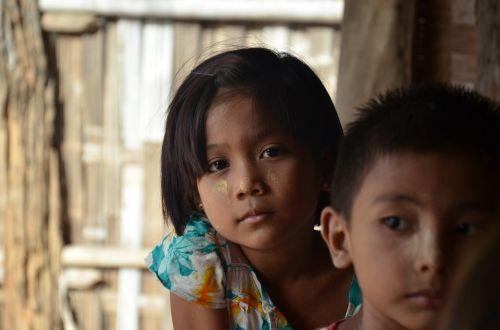 children myanmar burma
