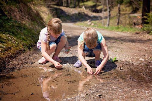 children girl nature