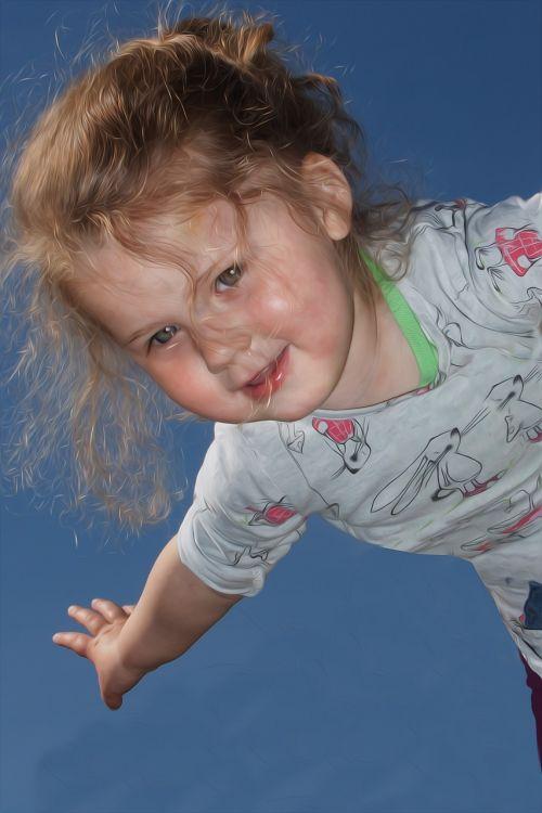 children summer cheerful