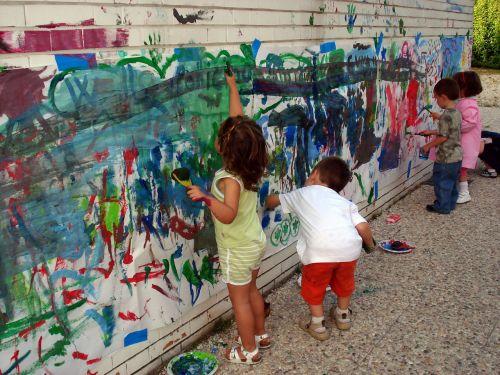 painting hands murals