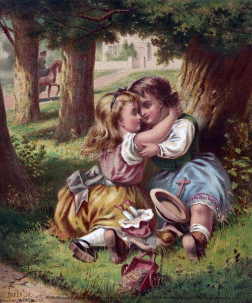 Children Friendship Painting