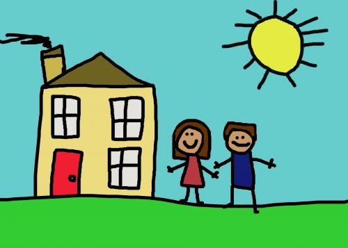 Children In Yard