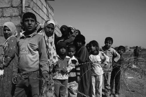 children of war hungry sadness