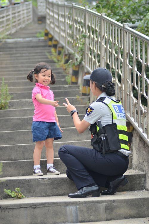 children's female police policewomen
