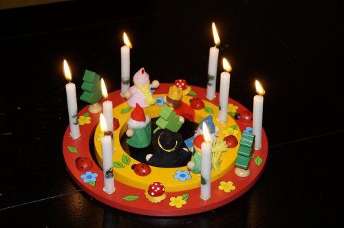 children's birthday birthday birthday wreath