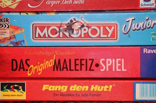 children's games games collection monopoly