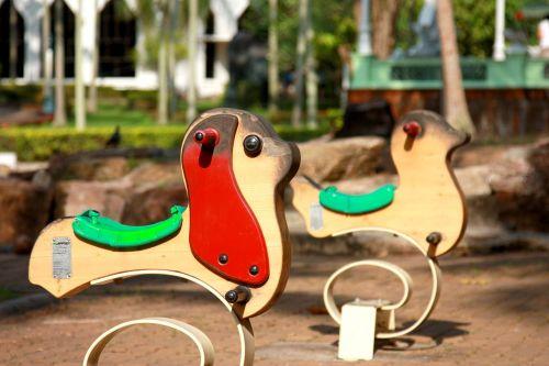 children's playground rocking chair toys