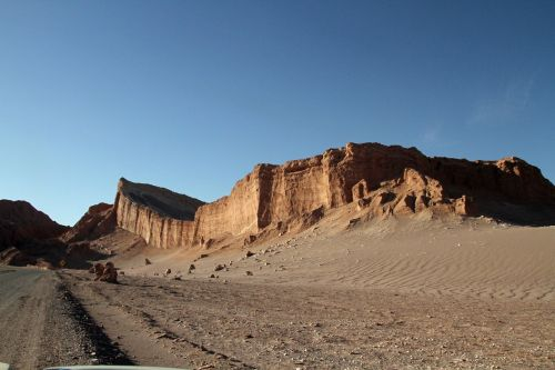 chile atacama desert moon valley