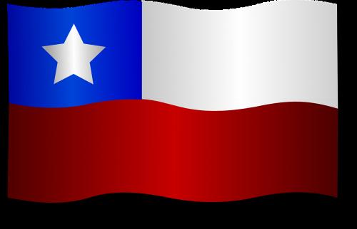 chile chilean flag