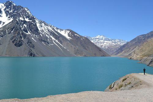 chile lake lagoon
