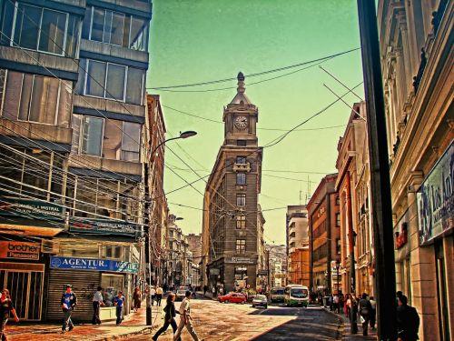 chile valparaiso city