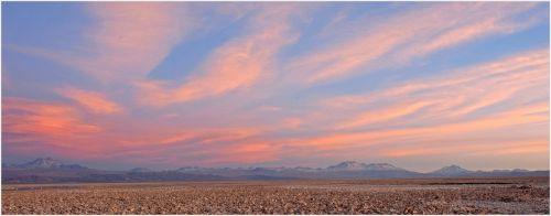 chile sunset sky