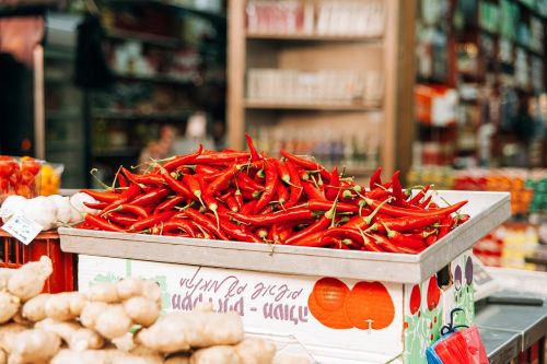 chili pepper hot