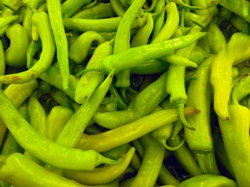 chili pepper vegetable green chili