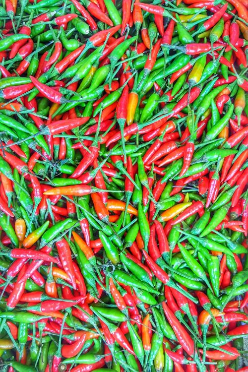 chilli vegetables spices