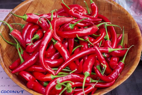 chilli  food  hot
