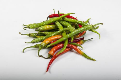 chilli peppers chilis green