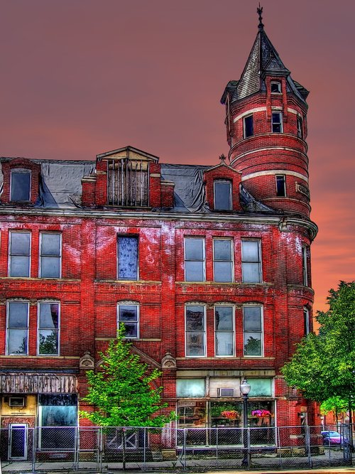 chillicothe ohio  old building  historic