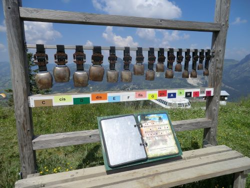 chimes cowbells mountains