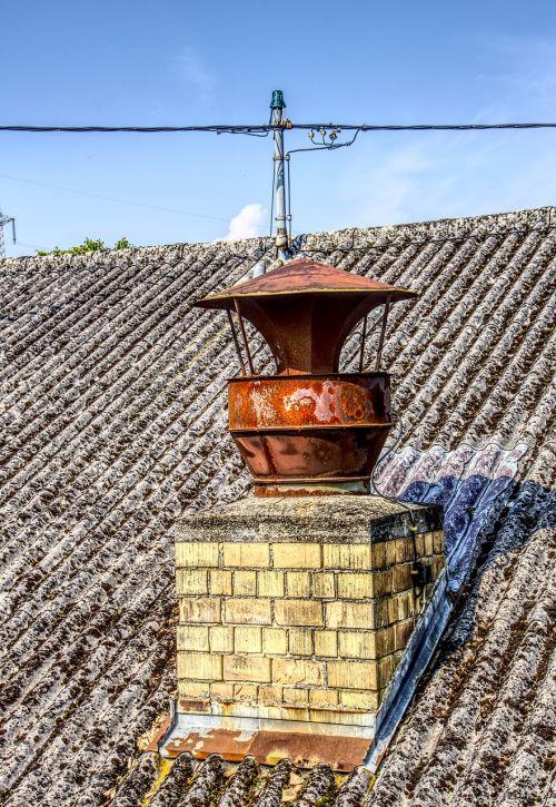 chimney fireplace iron