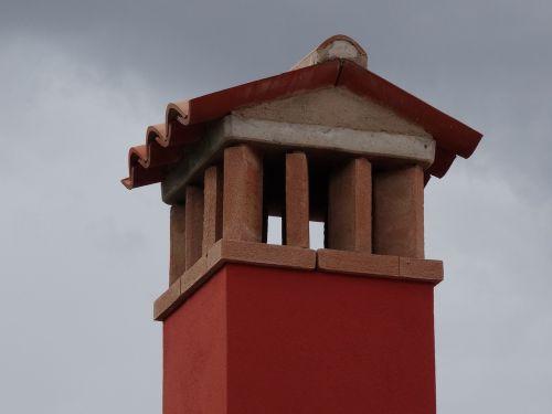 chimney brick mediterranean
