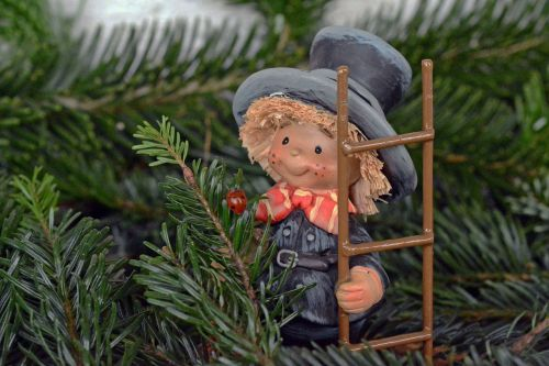 chimney sweep lucky charm new year's day