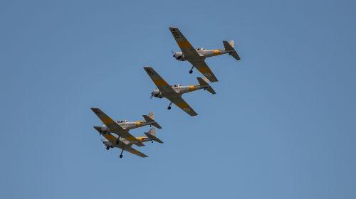 chimpmunk airplane aircraft
