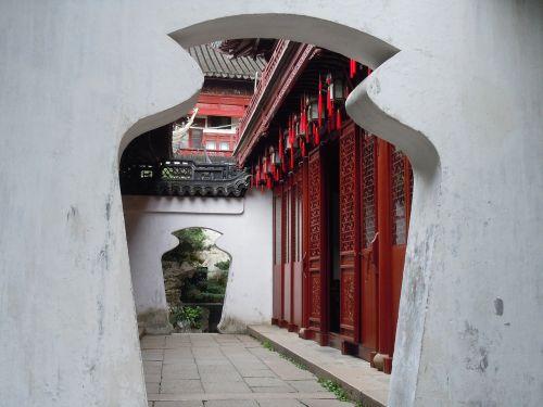 china zen door