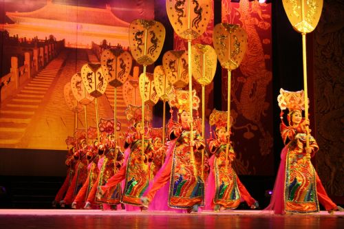china acrobatics dance