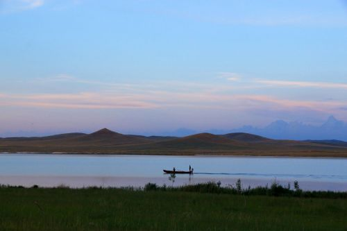 china inner mongolia lake